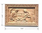 Nativity Religious Wall Plaque 9 3 4 x 6 1 4 Hard Maple Cherry
