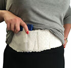 Womens Ladies White Lace Belly Band Gun Holster Carry Any Size Hidden Pistol
