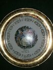 Sabin Crest-O-Gold Souvenir Plate Of South Bend Indiana   22k