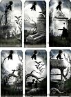 12 HALLOWEEN GRAVEYARD HANG GIFT TAGS FOR SCRAPBOOK PAGES 33