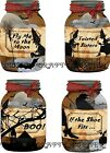 8 HALLOWEEN WITCHES MASON JAR HANG GIFT TAGS FOR SCRAPBOOK PAGES 08