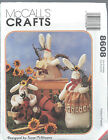McCall's 8608 Craft Pattern BUNNIES ~ 3 Sizes 8