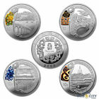 2008 China Mint 1oz Beijing Olympics Commemorative Silver Coin Set