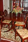 10 piece Duncan Phyfe Antique Dining Room Table,Chairs,Cabinet,Buffet,Sideboard