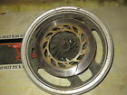 1983 Honda VF750F front wheel assembly with rotors and axle