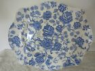 Johnson Brothers ENGLISH CHIPPENDALE-BLUE 14 3/4 Platter -
