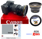 58MM WIDE ANGLE + MACRO LENS FOR Canon Rebel EOS T2 T2I XI T3 T3I T4 T5 T6 7D 6D