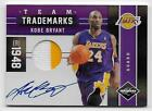 2011-12 Kobe Bryant Leaf Limited Auto Patch #5 5 Lakers