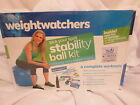New Factory Sealed Weight Watchers Stability Exercise Ball Kit DVD Pump Coupons