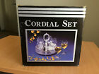 Vintage Silver Plate Cordial Set With 6 Luminarc Cordial/Shot Glasses
