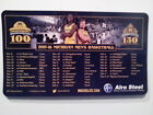 UNIVERSITY OF MICHIGAN 2015 2016 MAGNETIC BASKETBALL SCHEDULE 4 X 7 NEW