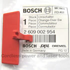 Bosch PSB1000-2 RCE Drill Forward Reverse Change-Over Switch Slide 2 609 002 954
