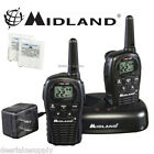 MIdland LXT500VP3 Two Way Radio Walkie Talkie Set 24 Mile Range 2 Pack Set New