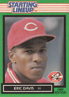 1989 Starting Lineup ERIC DAVIS Card NrMint