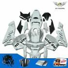 Fit for Honda CBR600RR 2005-2006 Injection White Silver Fairing ABS Plastic aD1