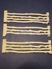 Revolutionary War Set Series Roy Rogers Toy Split Rail Marx White Fence Sections