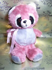 Vintage Fairview Industrial Corporation Pink Racoon Plush Stuffed Animal Lovey