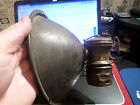Vintage Brass Miners Carbide Lamp Auto Lite Universal Lamp Co Odd 8 Reflector