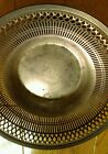 Sterling silver Bread Basket signed 416 9 3/4 inches weight 274 grams