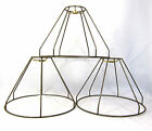 Lamp Shade Frame Set of 3 for Table Lamps Custom Made NYC