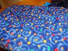 Lot of 10 night sky design (lots of stars) cotton quilting fabric