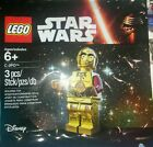 Lego Star Wars Force Awakens Promotional RED ARM C 3PO Minifigure Polybag