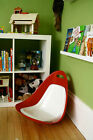 Vintage MTA 1960's Tip N Rok Childs Toy Pod Eames Chair Rocker Mid Century GIFT