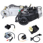 150cc CDI Air Cooled GY6 Single Cylinder 4 Stroke Complete Engine Set CVT Clutch