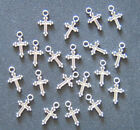 20 PIECES Cross Charms Pendants Christian Jewelry Making Supplies Arts