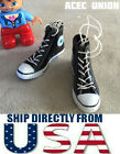 1 6 Converse All Star Style Sneakers BLACK For 12 Female Figure USA SELLER