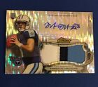 2015 Marcus Mariota TOPPS Finest Pulsar Refractor 3 Color 35 ROOKIE PATCH AUTO
