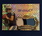 2015 Marcus Mariota Topps Finest XFRACTOR 3 Color # 20 ROOKIE PATCH AUTO RC