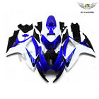 Fit for Blue White Fairing Injection ABS for 06-07 Suzuki GSX-R 600 750 K6 m05