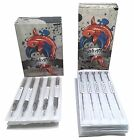 50 Pcs Tattoo Needles and Tubes - Assorted Lining and Shading Sizes RL RS M1
