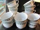 Set of 12 Jackson Custom China Restaurant Ware Falls Creek, PA Cups and Saucers