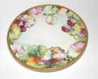 Antique Richard Ginori Handpainted, Gold Gilt, Collector Plate