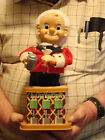 Vintage Old Toy Martini Bartender Battery Operated