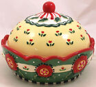 Mary Engelbreit Covered Snack Bowl Christmas 2001