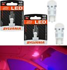 Sylvania ZEVO LED light 194 Red Two Bulbs Map Interior Plate Dome Side Marker