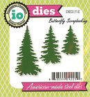 Pine Trees American made Steel Dies by Impression Obsession DIE217 E New