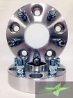 2 JEEP WHEEL SPACERS 5X5  125 INCH OR 32MM  RUBICON  WRANGLER JK 5X127