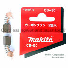 Makita BPB180 Bandsaw CB430 Carbon Brushes Original Part 191971-3