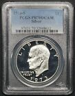 1973-S Eisenhower Ike Dollar, PCGS PR70DCAM Silver. Perfect coin! ULTRA LOW POP.