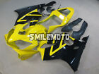 Fairing Yellow Black Injection Plastic Fit for Honda 2001 2003 CBR600 F4I gBM
