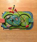 Rare Mechanical Playland Express Antique Tin Wind-up Toy Yone Made In Japan