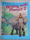 ABEKA WRITING WITH PHONICS 2 CURSIVE WRITING 1990 SECOND EDITION PARTIAL USE