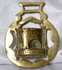 Very Collectable Old Horse Brass - THE FIVE ARCHES - TENBY  T78