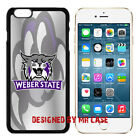NCAA Weber State Wildcats iPhone 4S, 5, 5S, 6, 6S & 6 Plus TPU Phone Case