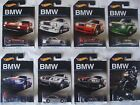 Hot Wheels BMW Series 100th Anniversary set of 8 Die cast Cars Brand New