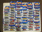 50 Hot wheels first editions 1998, 1997, 1999, 1996, 2000 new old stock